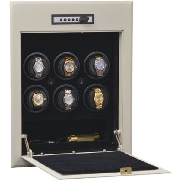 Orbita Wall Safe Automatic 6 Watch Winder