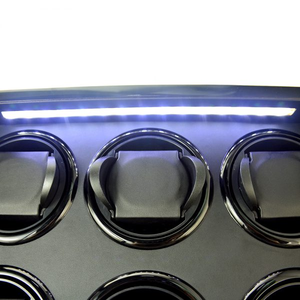 9 watch winder with LED's